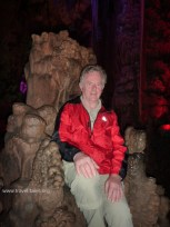 My father on the Deamon King's throne